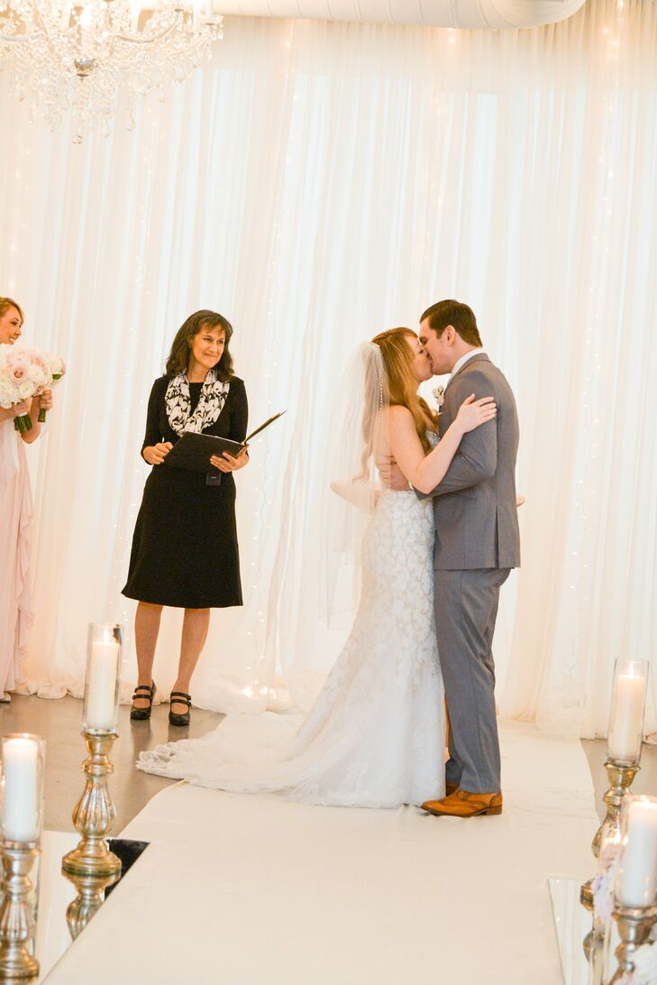 Romantic Indoor Ceremony