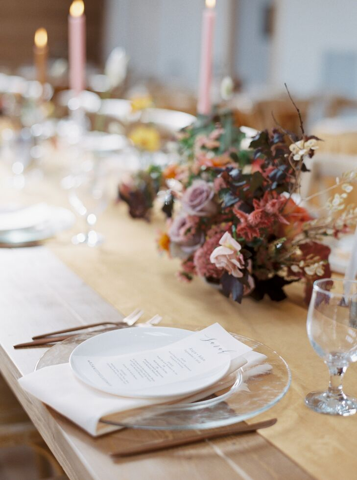 Rustic Place Setting at Nature Michigan Retreat in Maple City