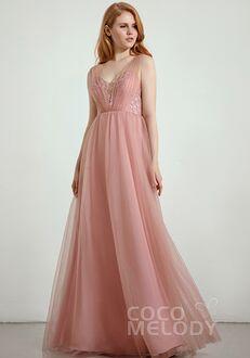 CocoMelody Bridesmaid Dresses RB0297 V-Neck Bridesmaid Dress