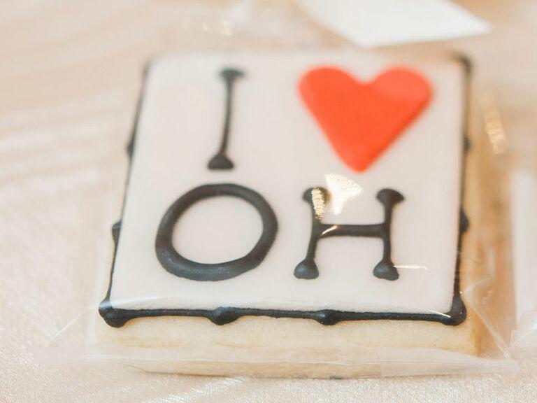 Ohio wedding favor