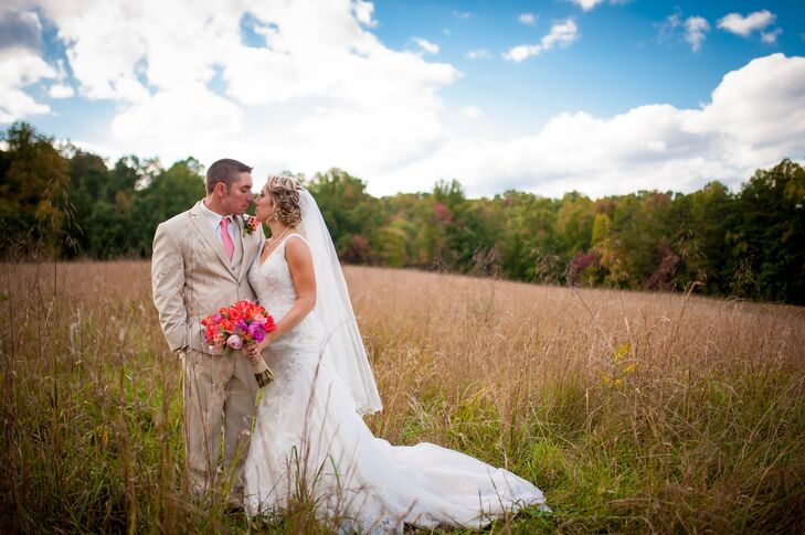 Wedding Portrait in Hico, West Virginia