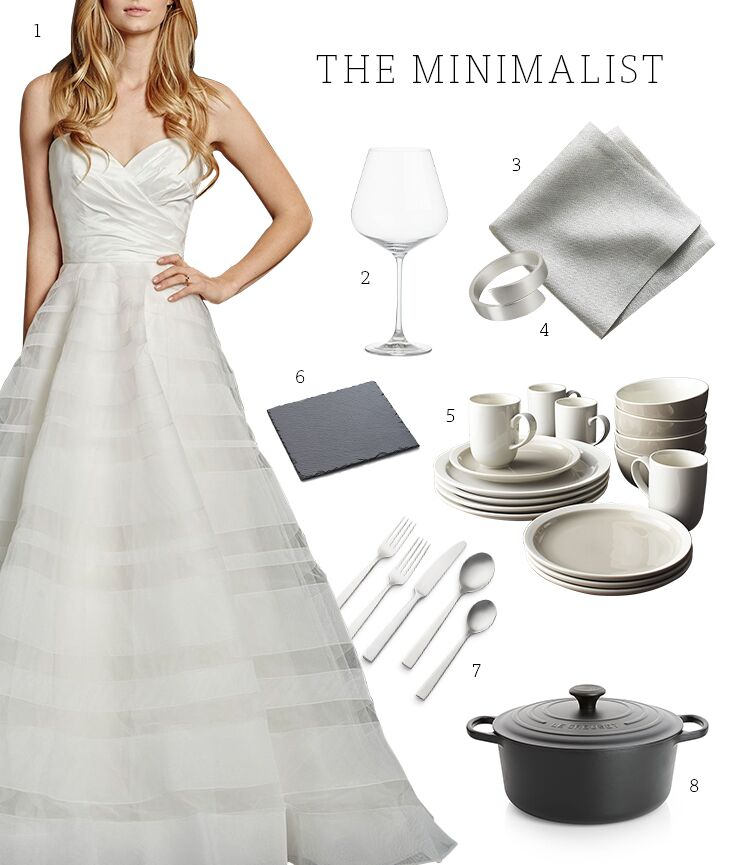 Wedding Registry List Ideas: Wedding Registry Ideas By Bridal Style