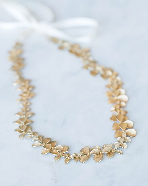 Davie & Chiyo   Sashes & Belts Gilded Orchid Sash Gold, Ivory, Silver Sashes + Belt