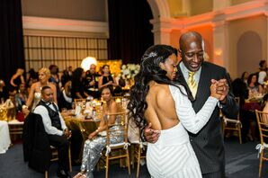 Ballroom First Dance with the Bride and Her Dad