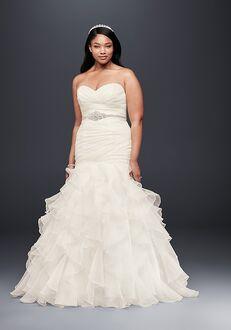 David's Bridal David's Bridal Style 9WG3832 Mermaid Wedding Dress
