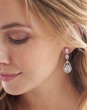 Dareth Colburn Tara CZ Earrings (JE-1189) Wedding Earring photo