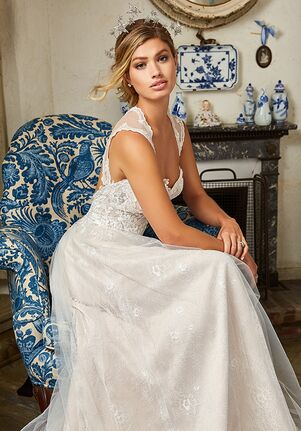 Simply Val Stefani ELLWOOD A-Line Wedding Dress