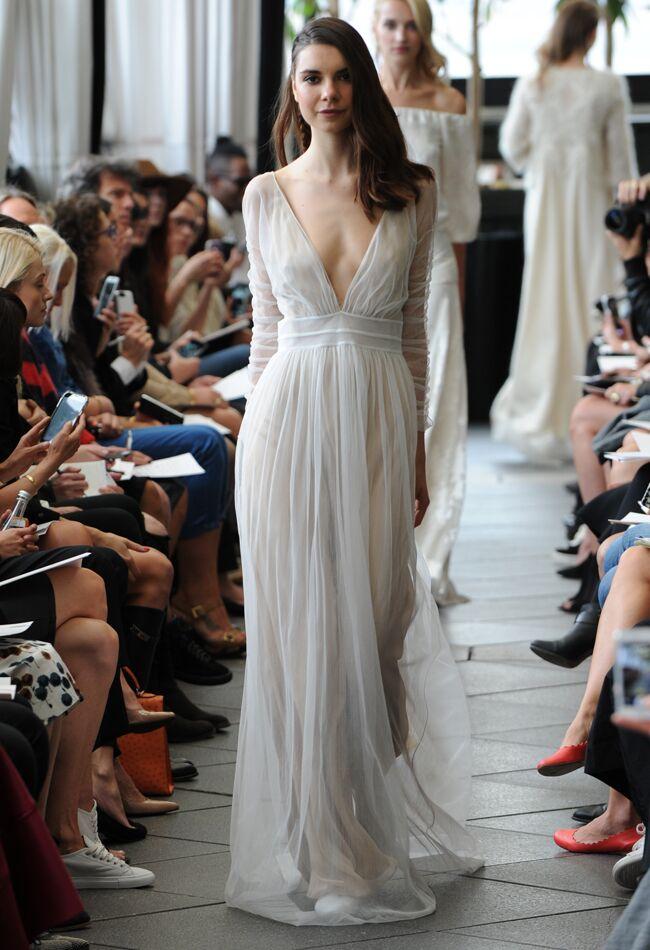 Boho Wedding Dresses We Love From Bridal Fashion Week