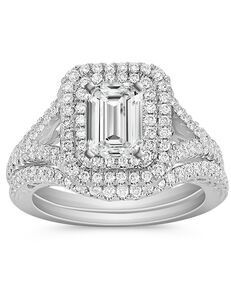 Shane Co. Glamorous Princess, Asscher, Cushion, Emerald, Heart, Marquise, Pear, Radiant, Round, Oval Cut Engagement Ring