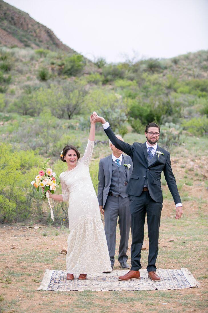 Ivory Boho Wedding Dress