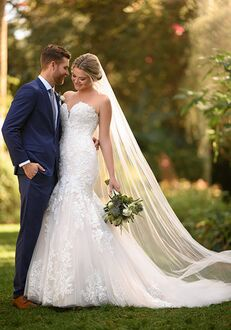 Essense of Australia D3044 Mermaid Wedding Dress