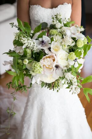 Oversized Bouquet of Anemones, Peonies, Baby's Breath and Wildflowers