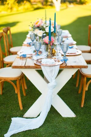 Rustic Farm Tables and Chairs