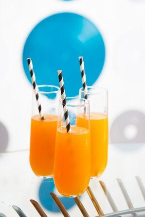 Orange Signature Drinks