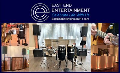 East End Entertainment DJs Bands Lighting  Photo Booths