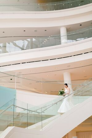 Bridal Processional at Segerstrom Center for the Arts in Costa Mesa, California
