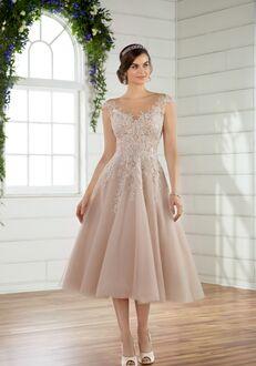 Essense of Australia D2498 Ball Gown Wedding Dress
