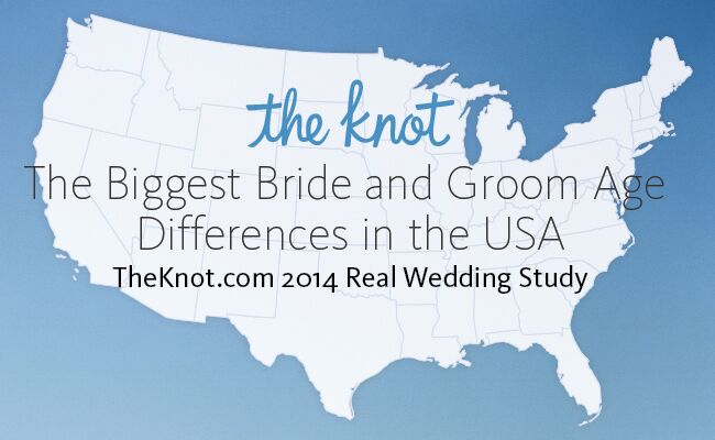 Real Wedding Study: Biggest Bride and Groom Age Differences