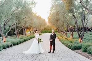 Asian Couple at San Ysidro Ranch