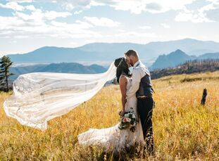 Monique Larson (29 and a bookkeeper) and Michael Forsythe's (29 and an HVAC foreman) wedding was a dream, 20 years in the making for Monique. Raised r