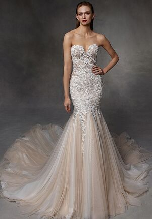 Badgley Mischka Bride Delilah Mermaid Wedding Dress