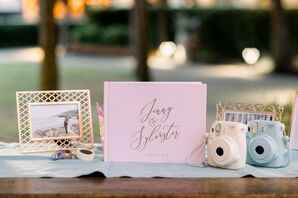 Polaroid Guest Book at Wente Winery Wedding