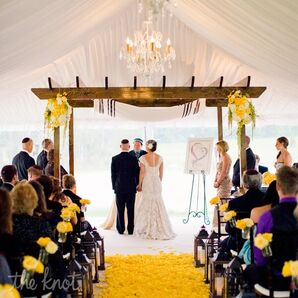 Tented Wedding Ceremony