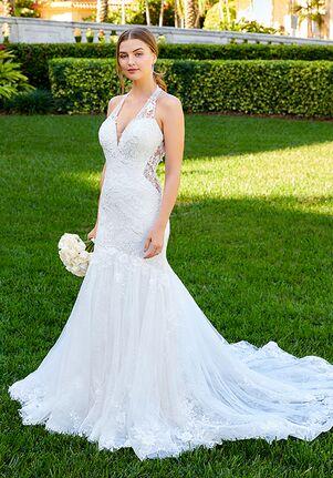Adrianna Papell Platinum 31193 Mermaid Wedding Dress