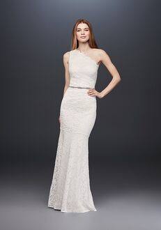 David's Bridal DB STUDIO Style 183668DB Sheath Wedding Dress