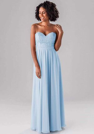 Kennedy Blue June Strapless Bridesmaid Dress