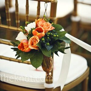 Orange Tulip Decor