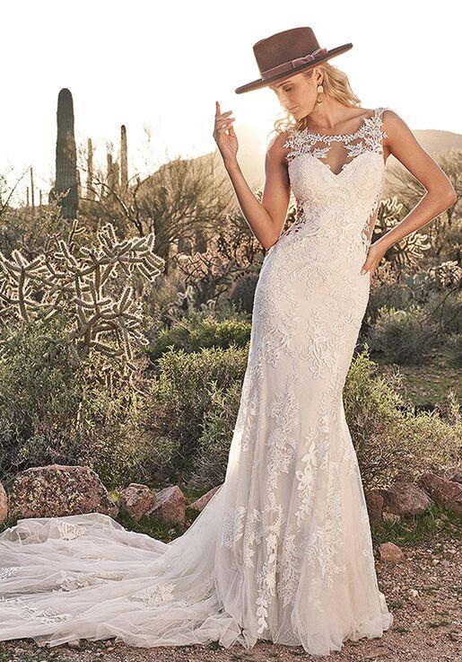 Lillian West 6485 Mermaid Wedding Dress
