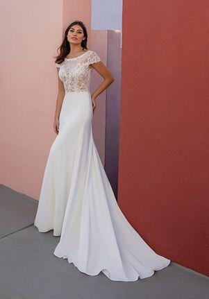 WHITE ONE ESSENTIALS OBRE Wedding Dress