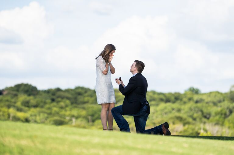 Despite the craziness in the world, I said yes to my best friend, and now we get to spend the rest of our lives together.