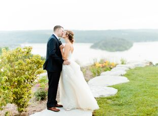 For their June nuptials, a picturesque venue was at the top of Brittany Nicklas (26 and a teacher) and Jacob Keeney's (25 and a US Army officer) prior