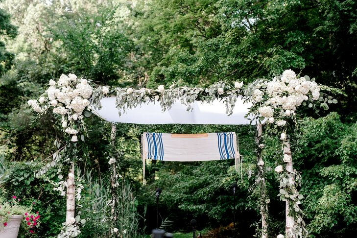 Chuppah at Jewish Minimony in New York