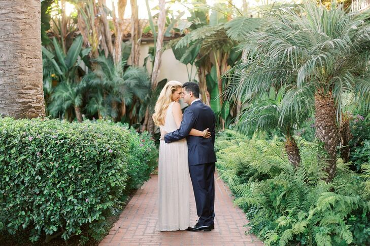 After their Persian wedding, Catherine Alaghebandian and Hamed Alaghebandian hosted an elegant, intimate Western celebration with friends. The Four Se