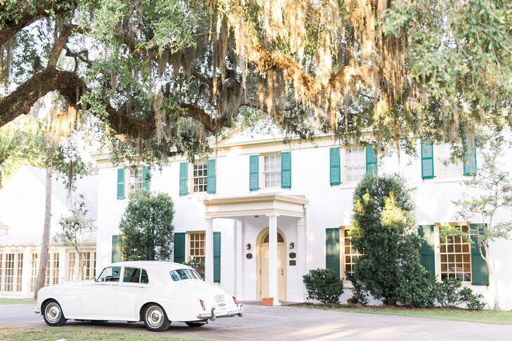 Vintage Rolls Royce Getaway Car