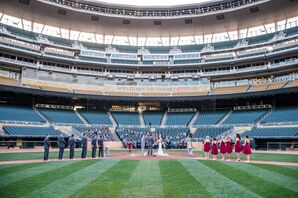Target Field Ceremony