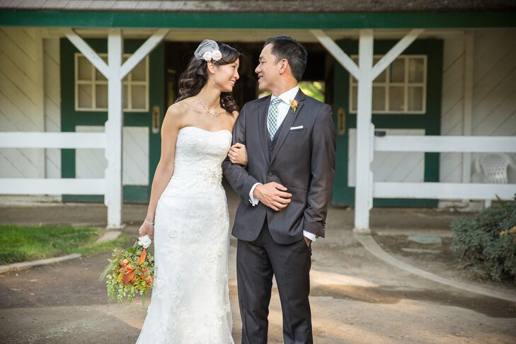 An Outdoor Rustic Wedding At Brookside Equestrian Center In Walnut