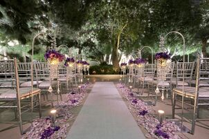 Wedding reception venues in las vegas nv the knot the wedding chapel at aria resort and casino junglespirit Image collections