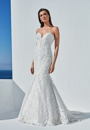 Justin Alexander Barrett Mermaid Wedding Dress
