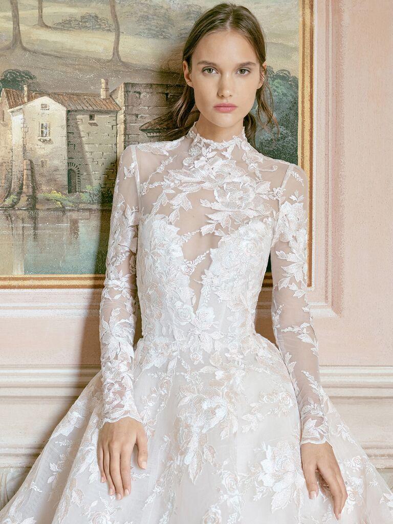 monique lhuillier bridal fashion week collection