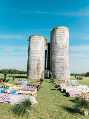 Grain Silo Wedding Ceremony