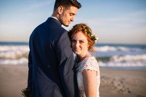 Natural Couple at Beach