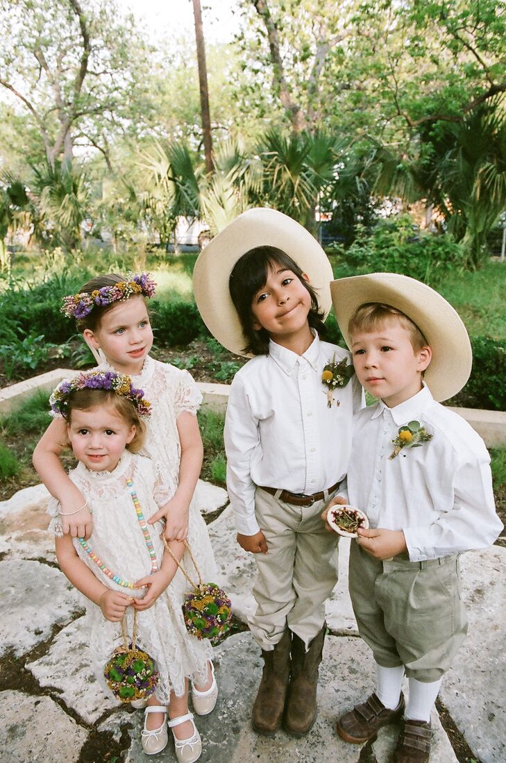 Victorian Lace Fox'n Lily Flower Girl Dresses