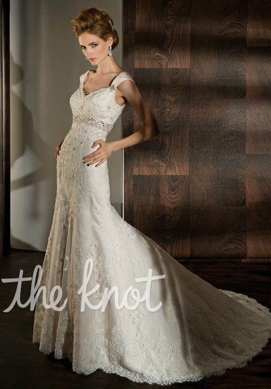 Demetrios 1424 wedding dress the knot for Wedding dresses the knot