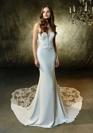 Blue by Enzoani Lainey Mermaid Wedding Dress