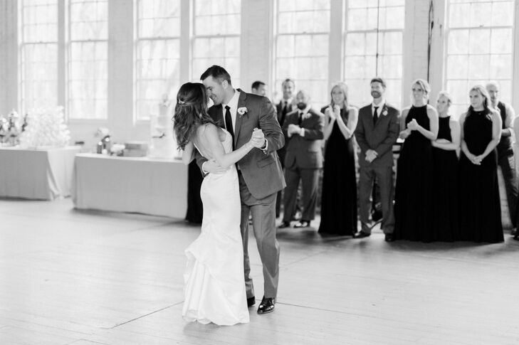 First Dance at the Lace Factory in Deep River, Connecticut