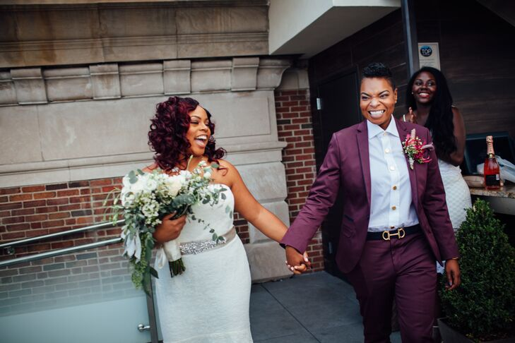 Brittani Ealy (28 and a licensed cosmetologist) and Erikka Gray (36 and a manager/entrepreneur) met on social media while living far apart. At the tim
